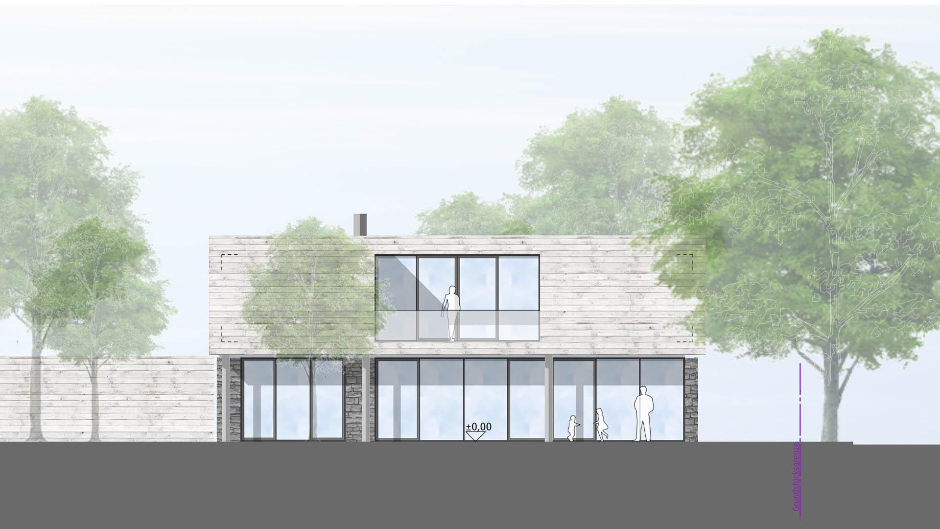 wohnhaus in wetzendorf. Black Bedroom Furniture Sets. Home Design Ideas
