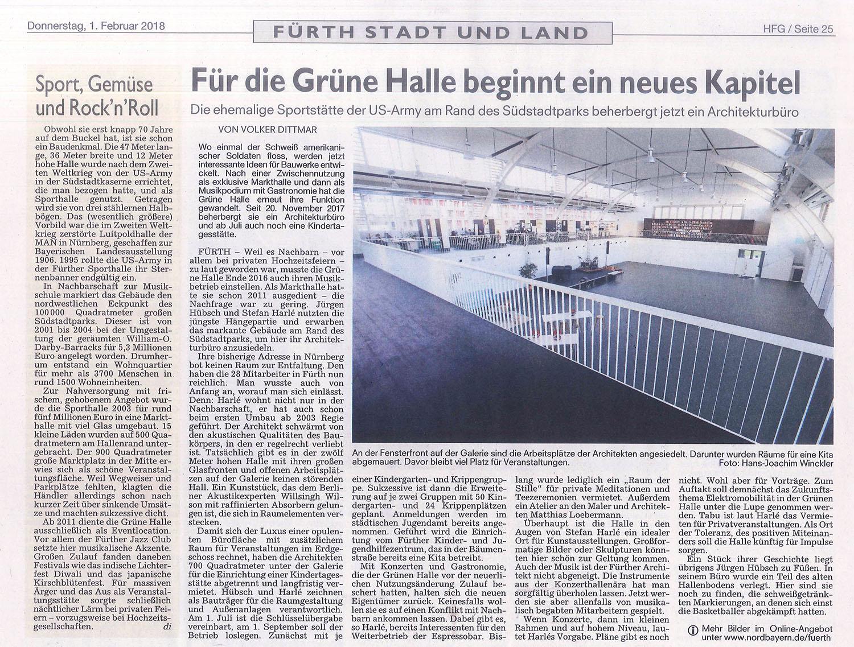 Architekturbüro Fürth hübsch harlé architekten stadtplaner bericht aus den fürther